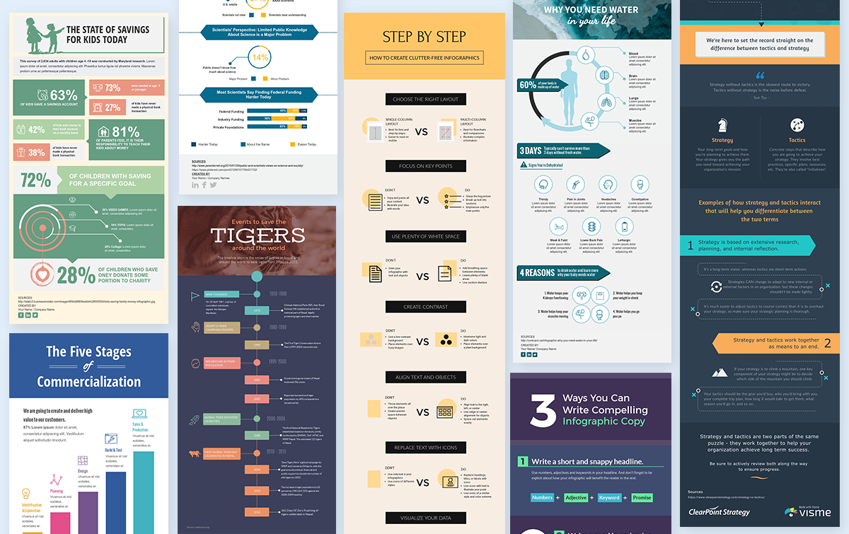 create original, high-quality infographics