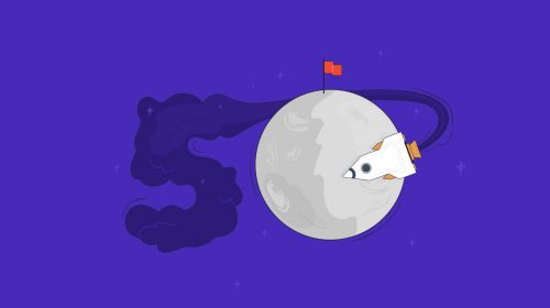 50th anniversary moon landing header