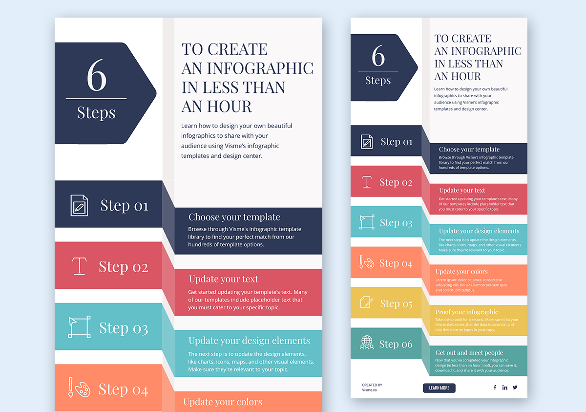 designing infographics - download and share infographic template visme 3