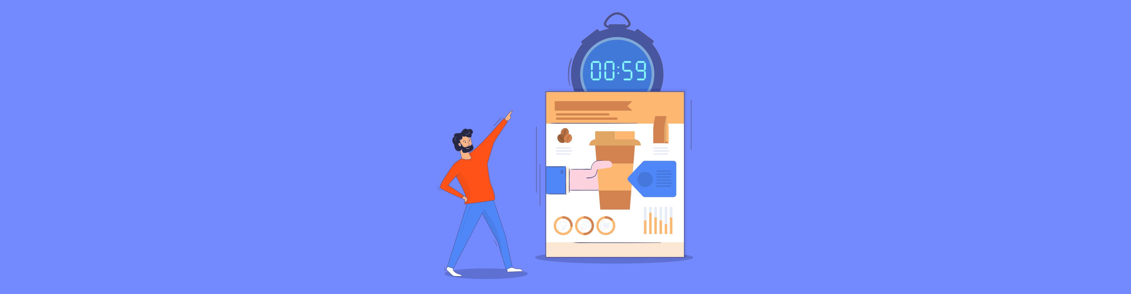 designing infographics - header wide
