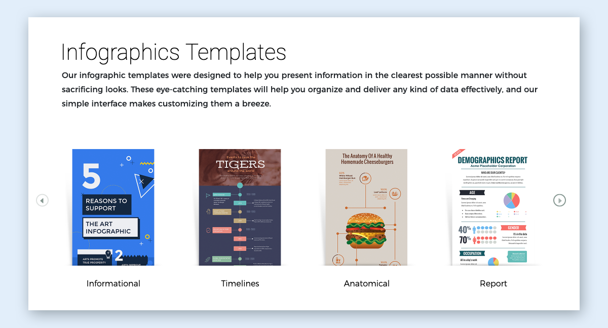 infographic design guide - browse visme template library