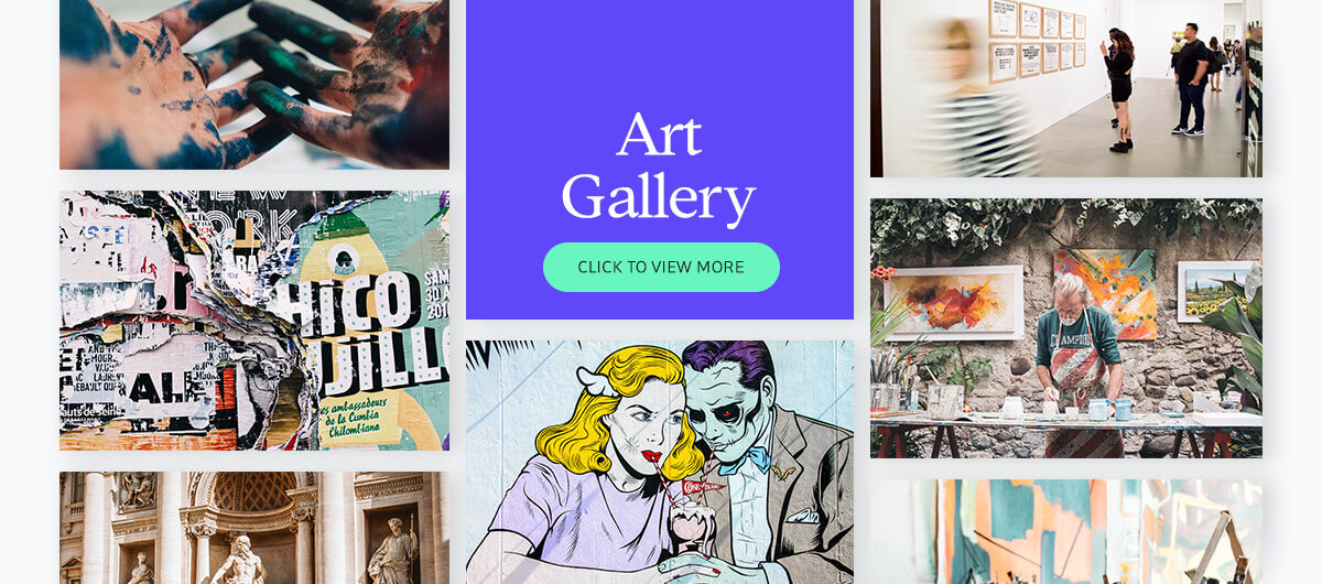 700+ presentation images - art gallery