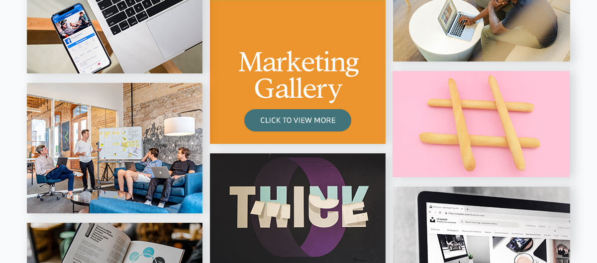 700+ presentation images - marketing gallery