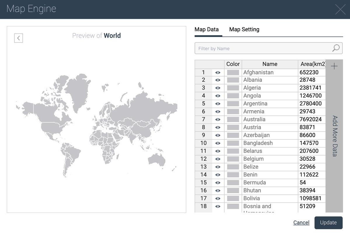 best presentation tools - maps visme