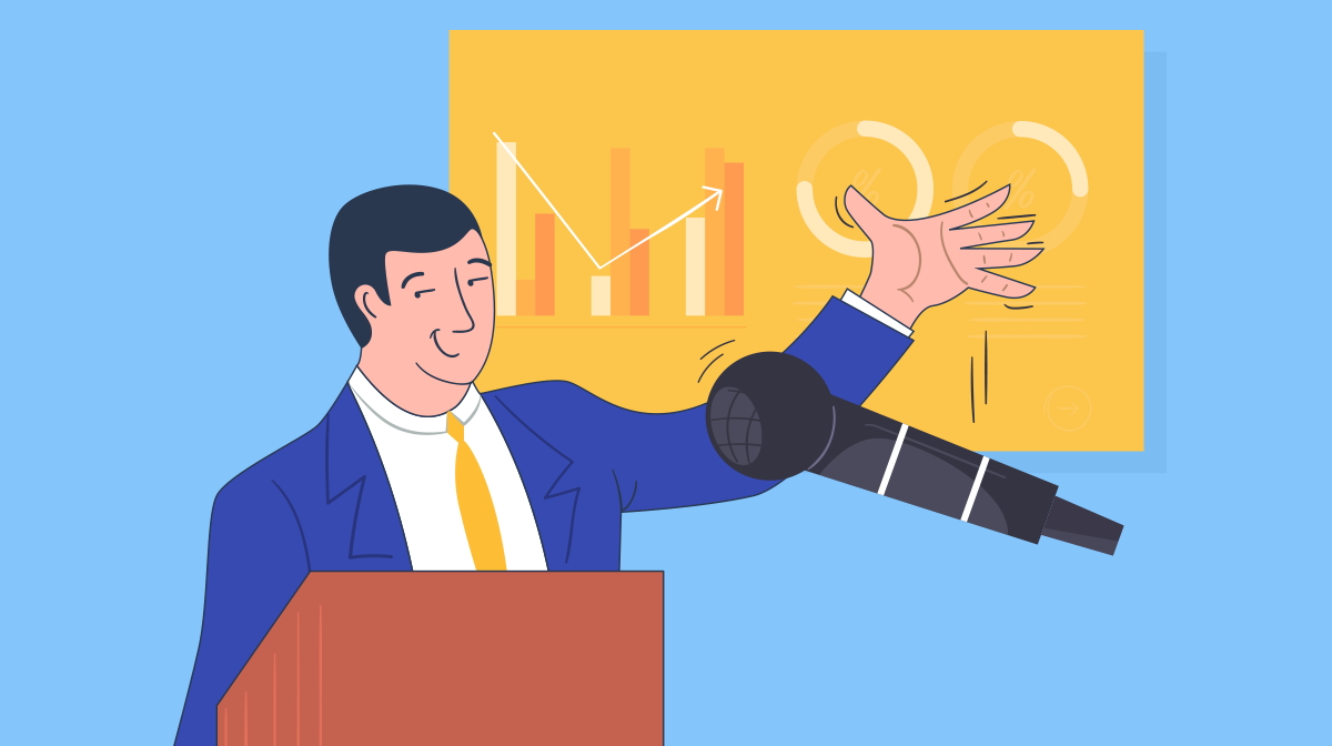 business presentation - header