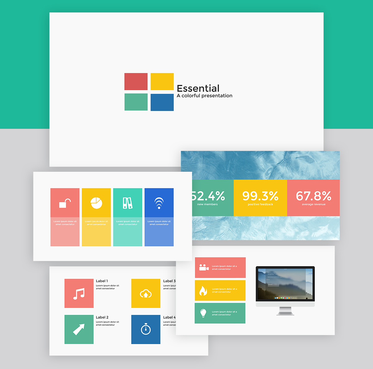 best presentation deck templates - creative template