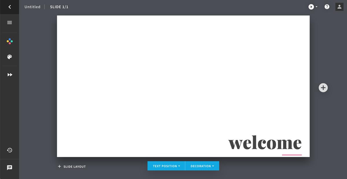 visme vs beautiful ai - slide editor 1