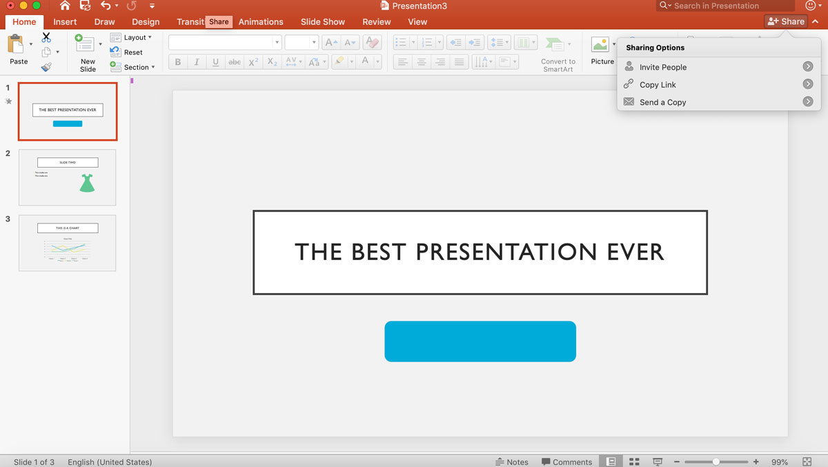 visme vs powerpoint - sharing presentations 1