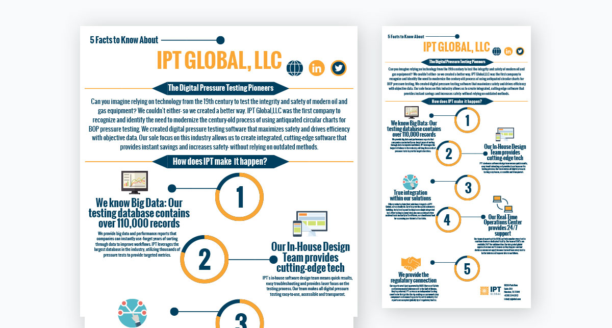 visme case study brand kit - ipt global quick facts