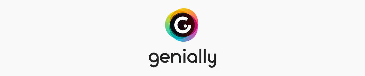 animated presentation software - genially logo