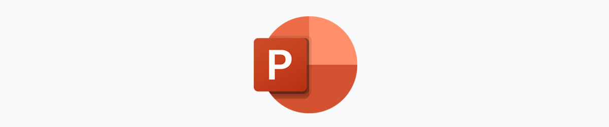animated presentation software - powerpoint logo
