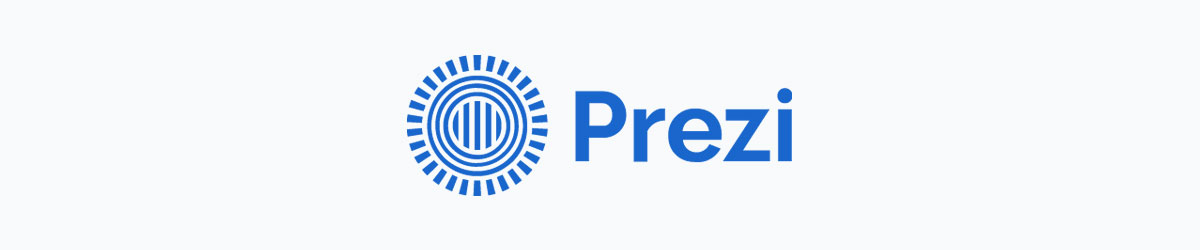 animated presentation software - prezi logo