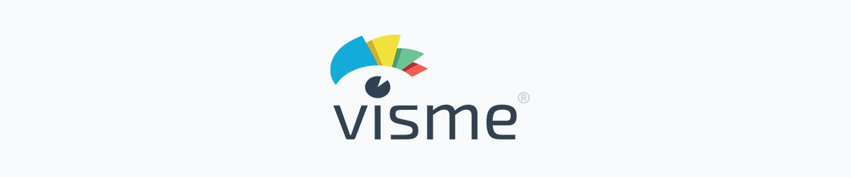 animated presentation software - visme logo