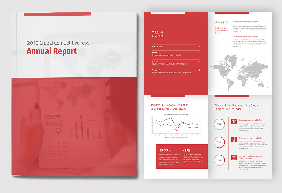 How to Create an Amazing Report Cover Page Design [Plus Templates]