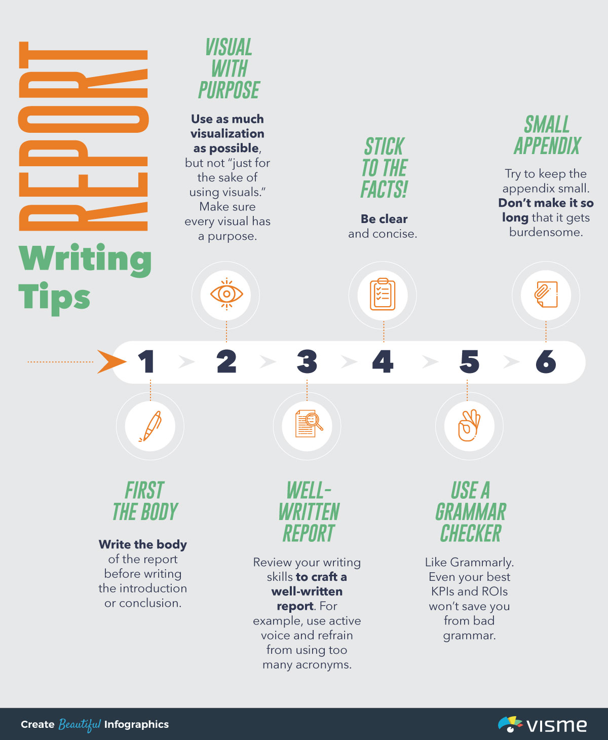 report writing format - report writing tips