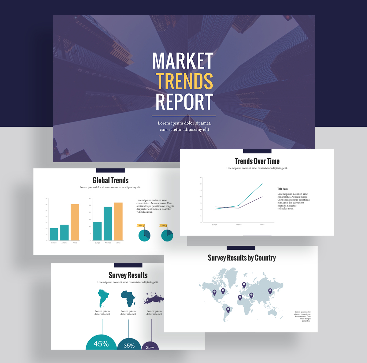 report examples - market research report template