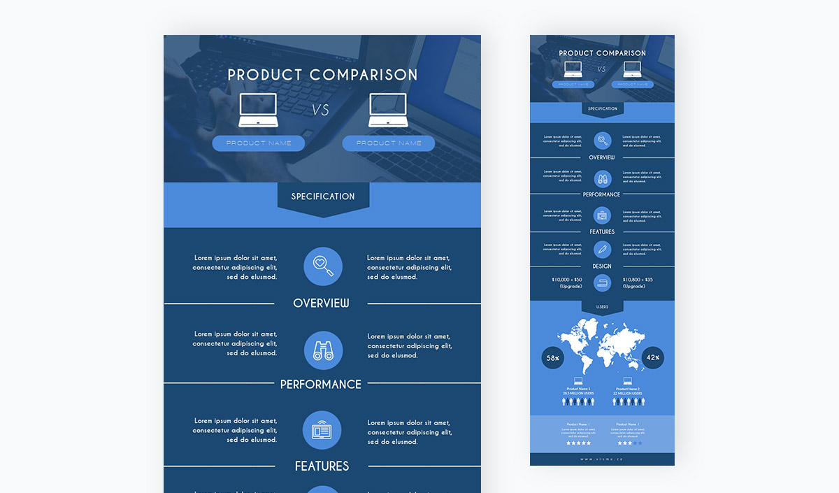 comparison chart - product comparison chart template