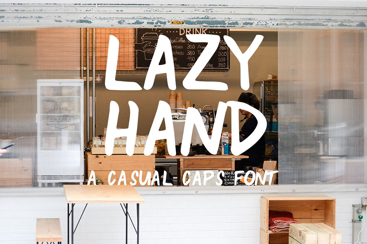 top fonts 2020 - lazy hand
