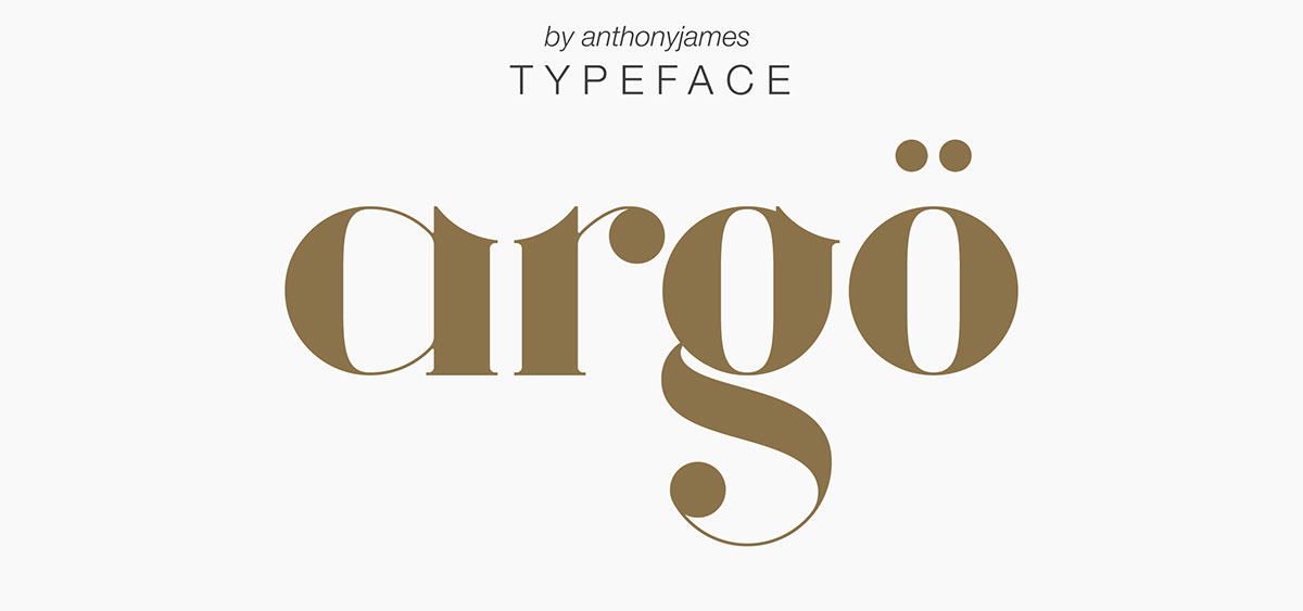 top fonts 2020 - argo