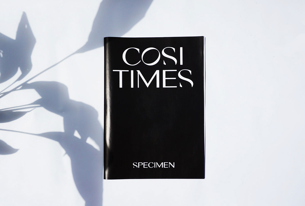 top fonts 2020 - cosi times