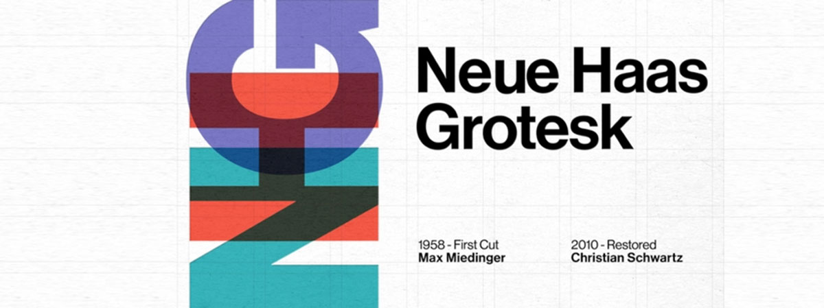 top fonts 2020 - neue haas grotesk