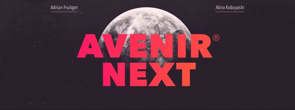 top fonts 2020 - avenir next