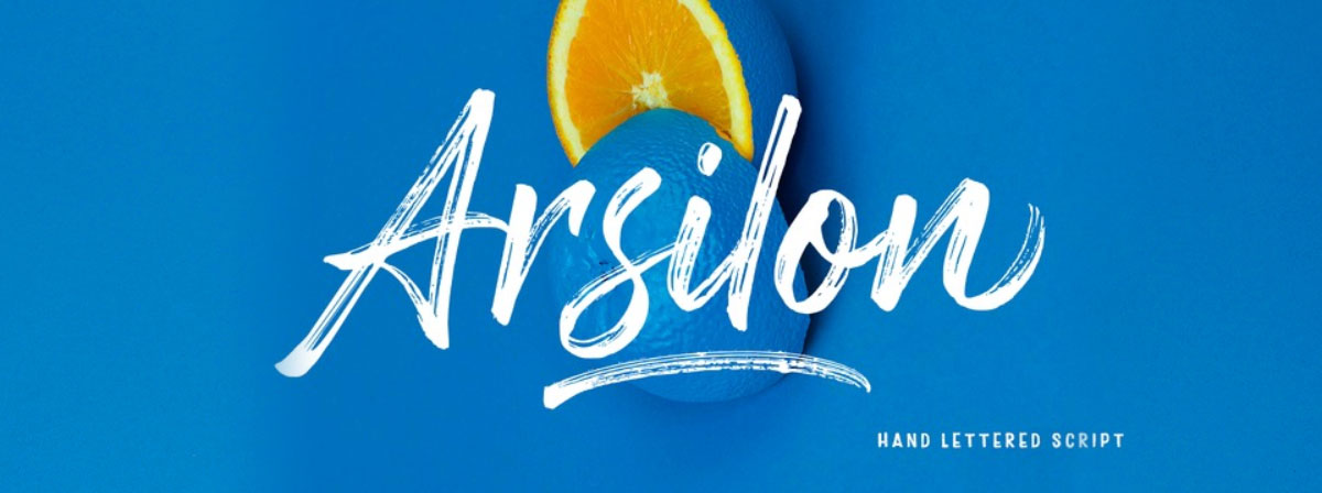 top fonts 2020 - arsilon