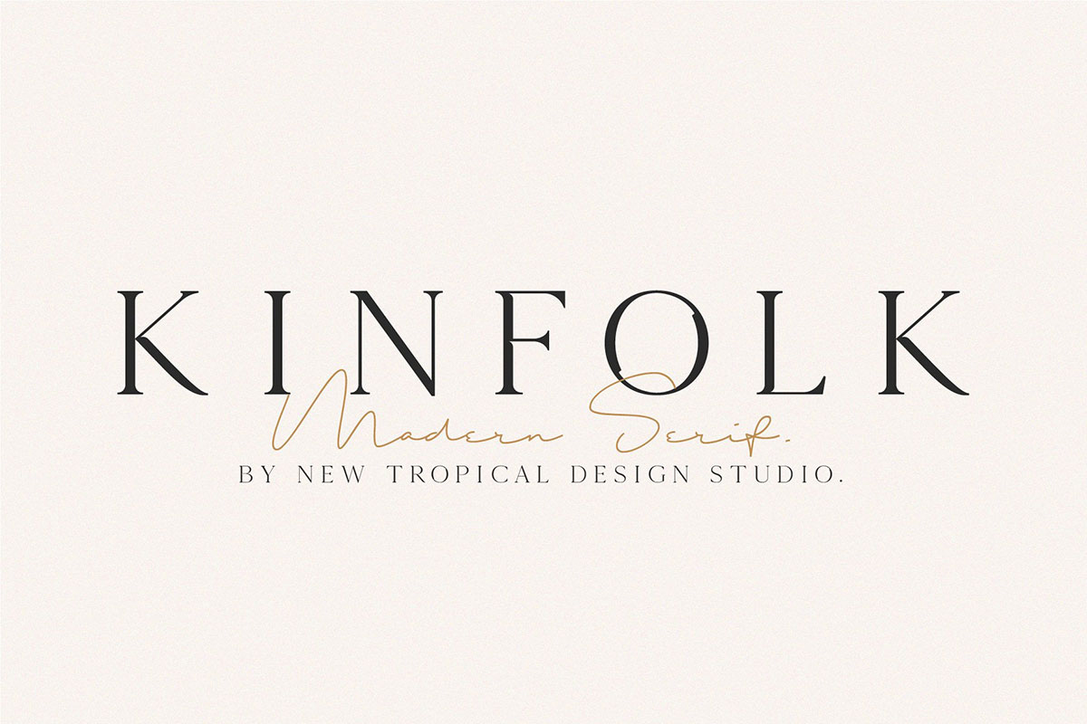 top fonts 2020 - kinfolk