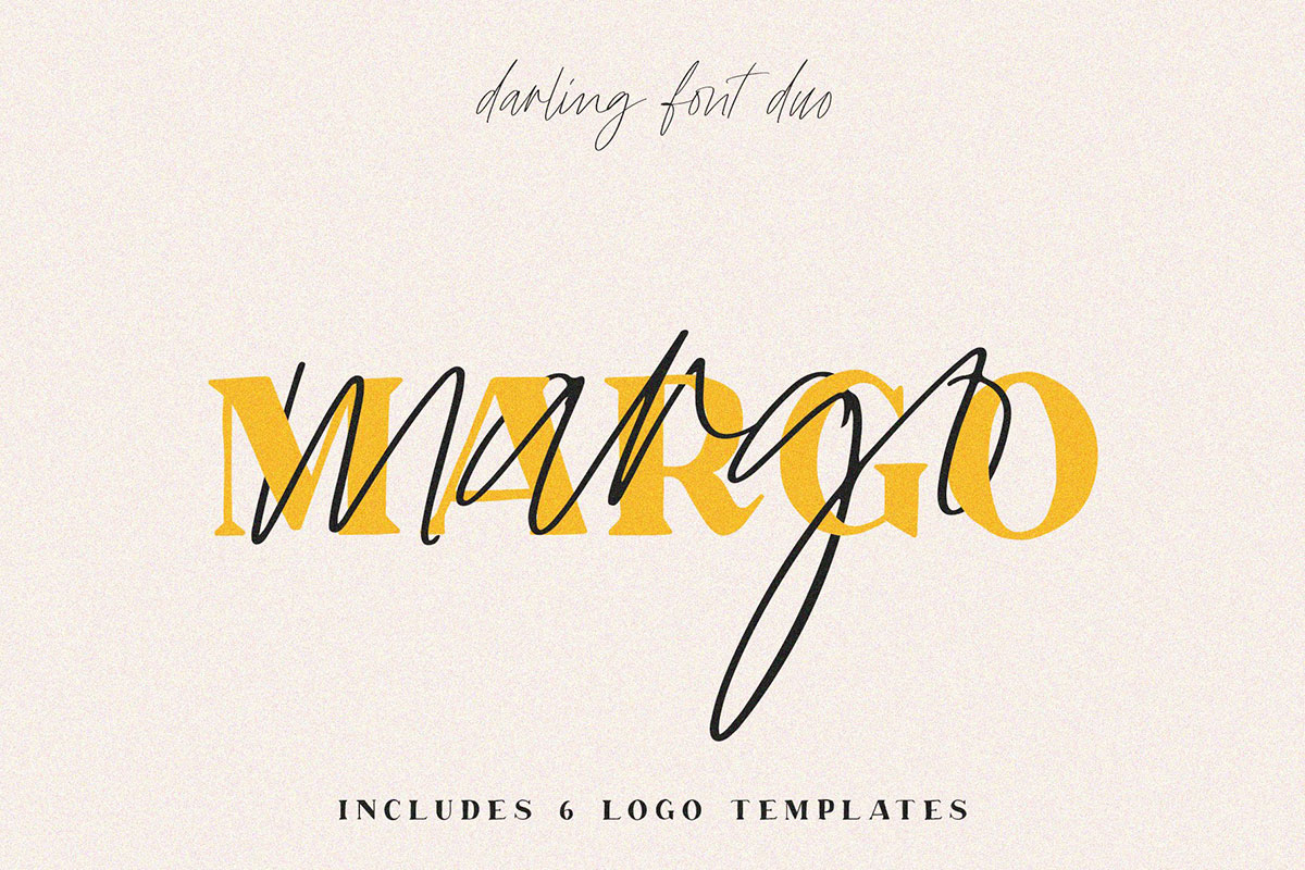 top fonts 2020 - margo