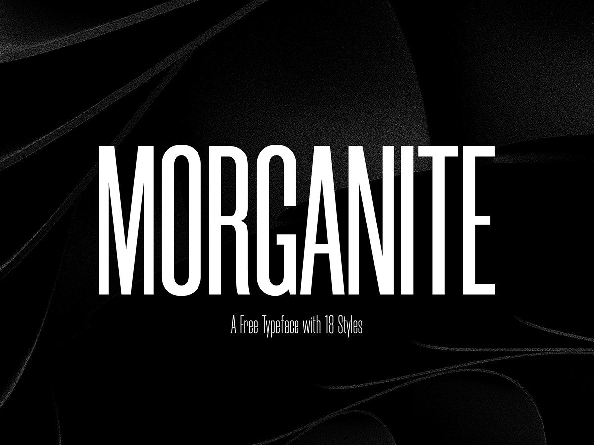 top fonts 2020 - morganite
