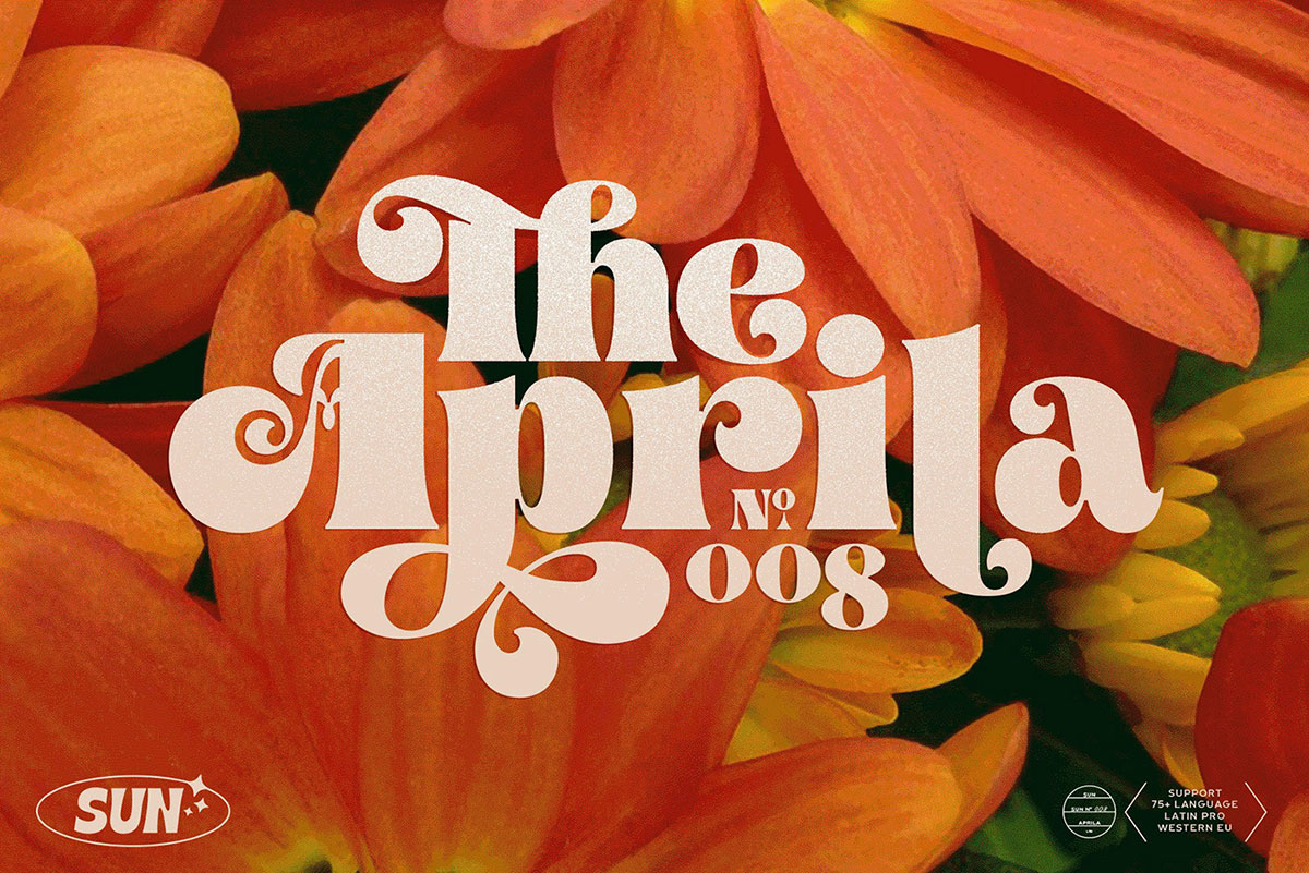 top fonts 2020 - the aprila