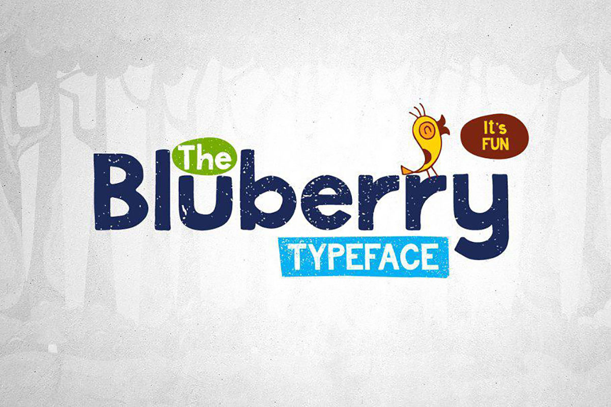 top fonts 2020 - bluberry