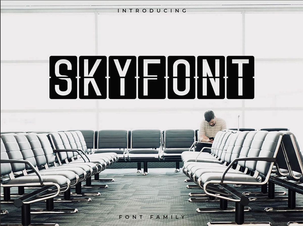 top fonts 2020 - skyfont