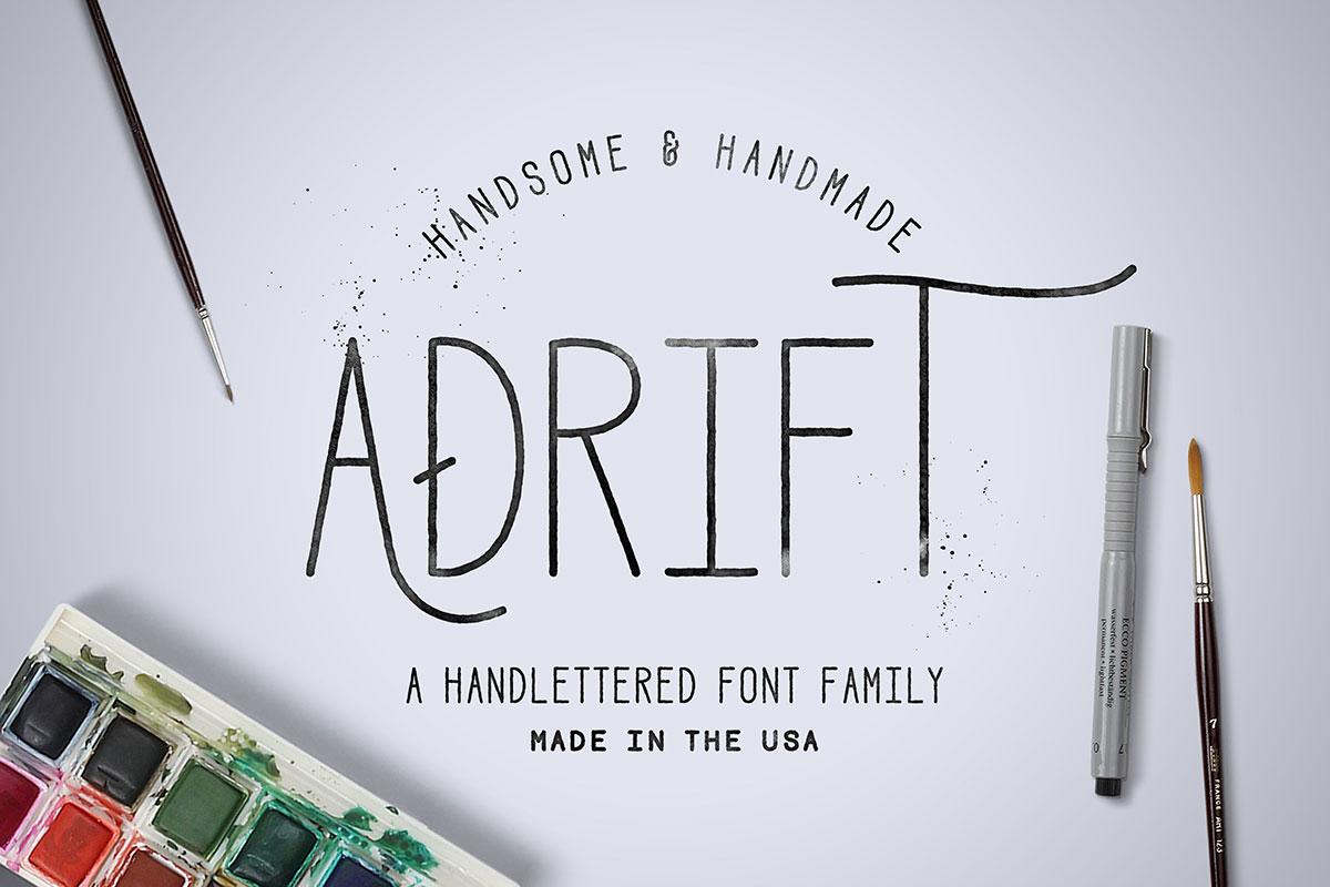 top fonts 2020 - adrift
