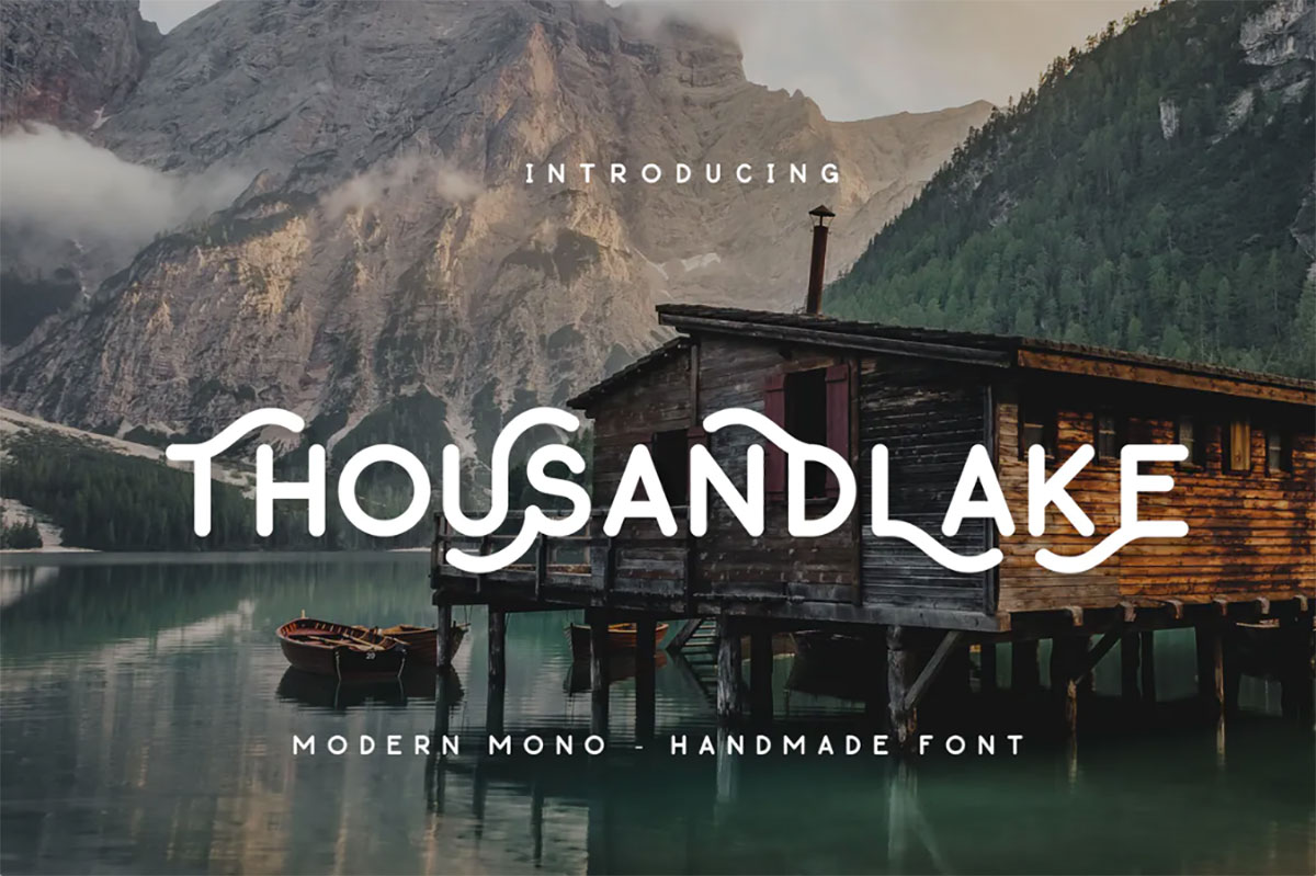 top fonts 2020 - thousand lake