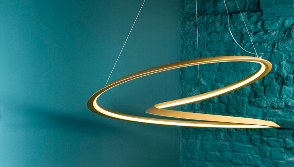 cool shapes - mobius strip lamp design example