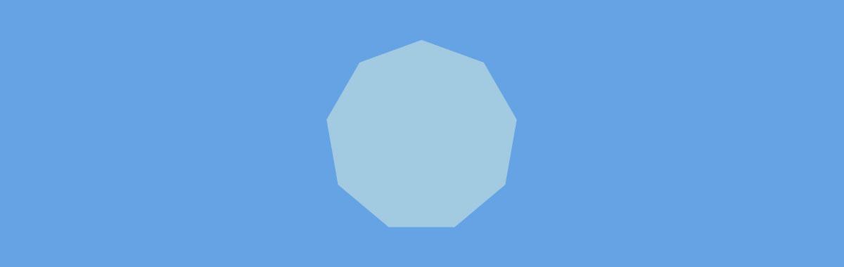 cool shapes - nonagon
