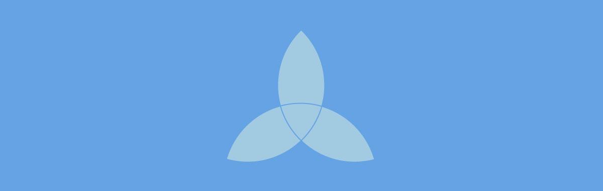cool shapes - triquetra