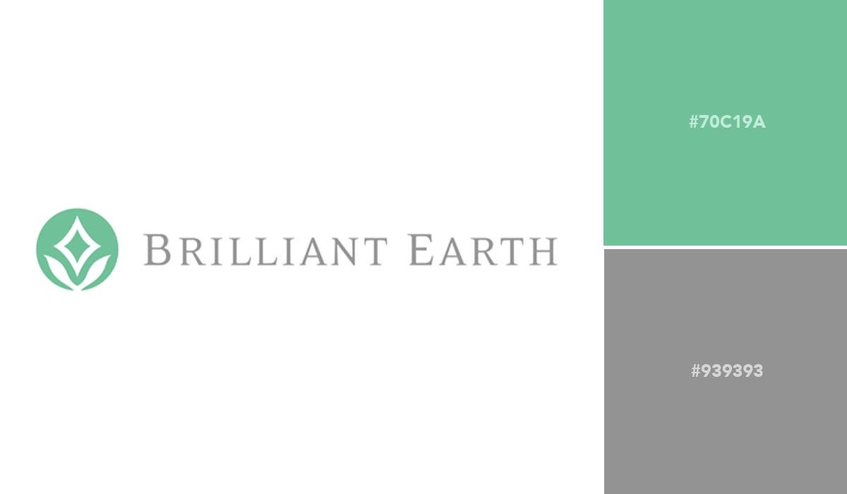 logo color schemes - brilliant earth palette