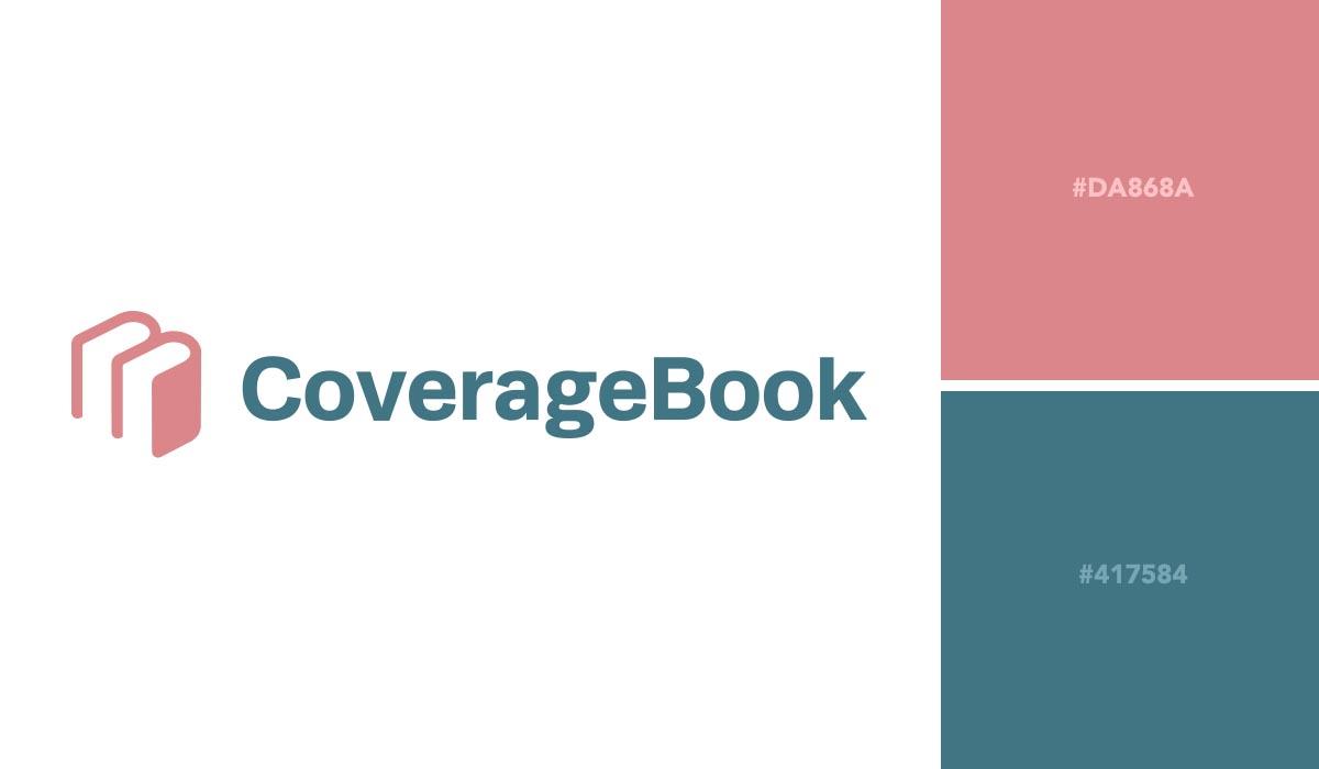 logo color schemes - coverage book palette