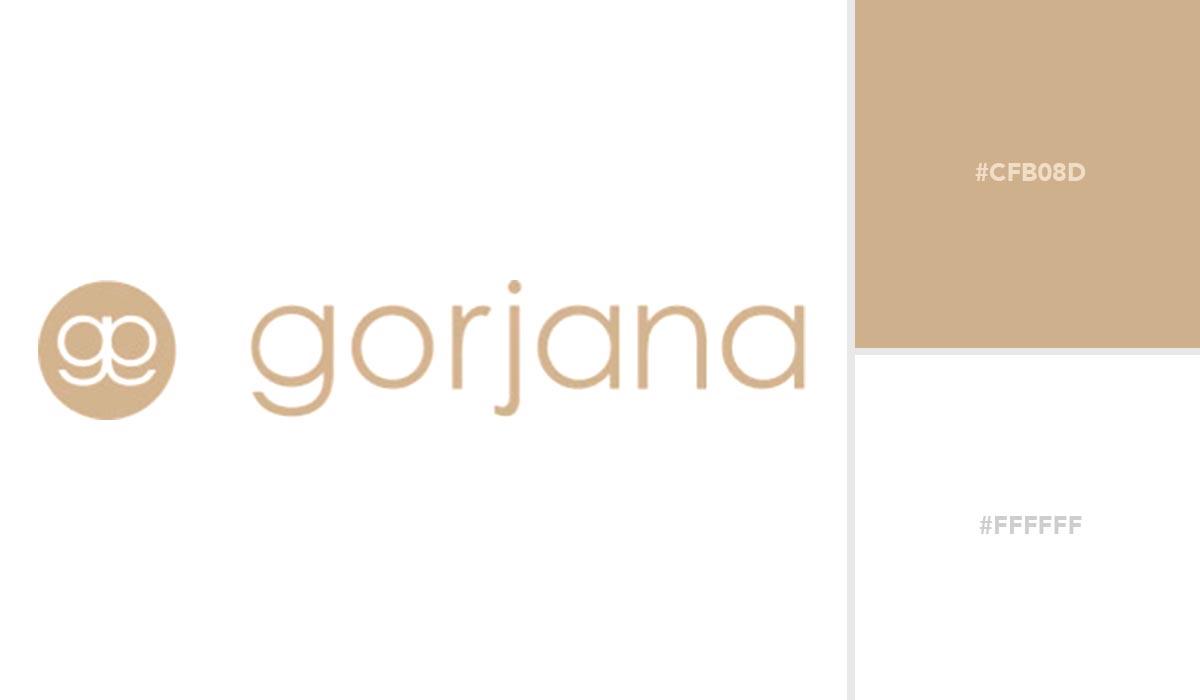logo color schemes - gorjana palette