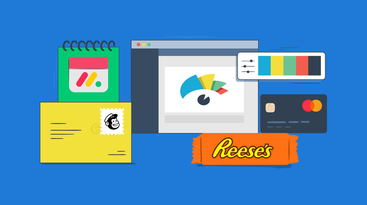 logo color schemes - header