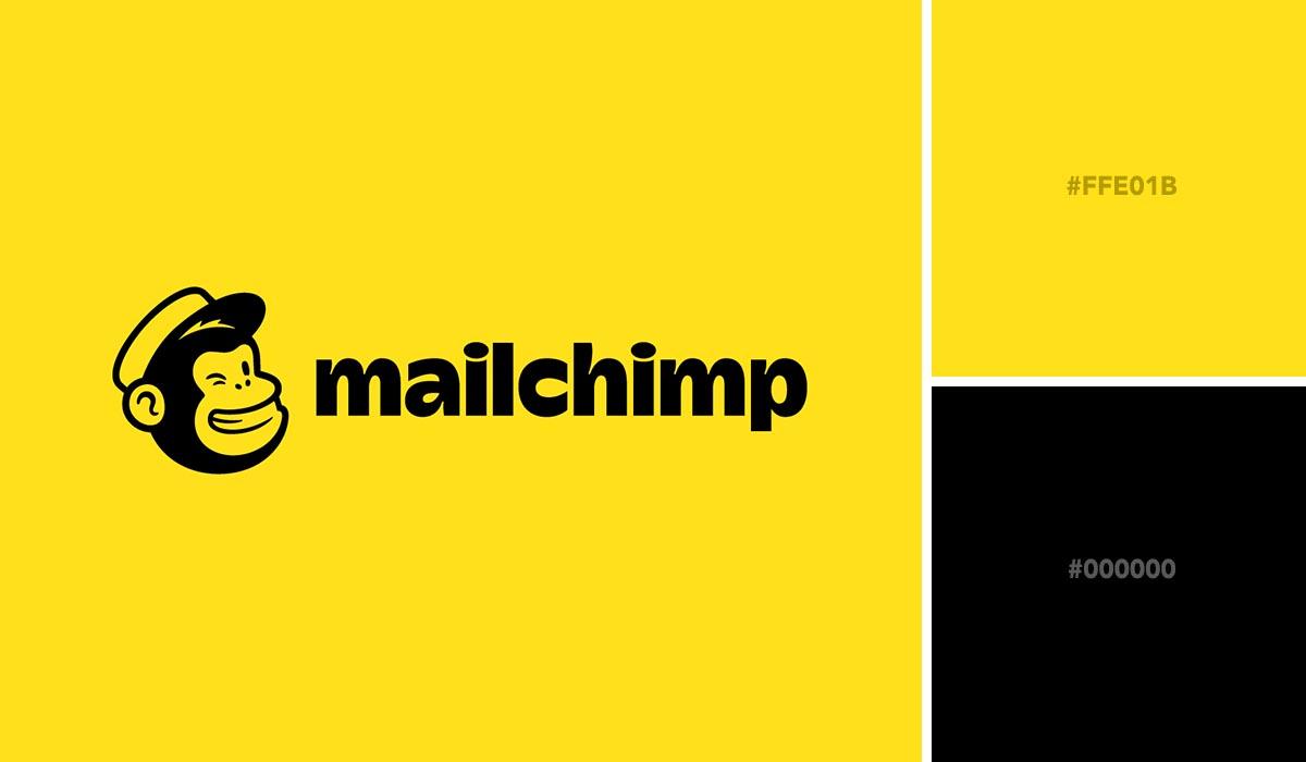 logo color schemes - mailchimp palette