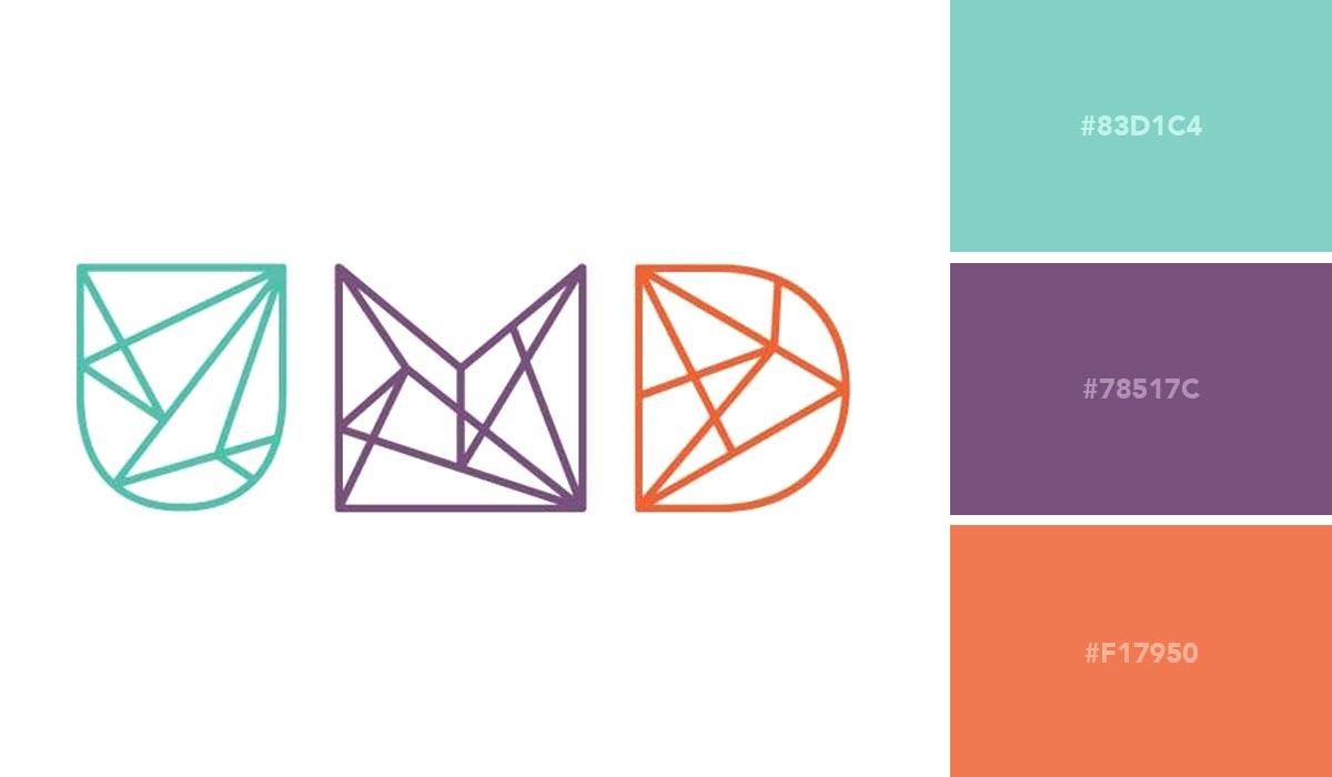 logo color schemes - names for change palette