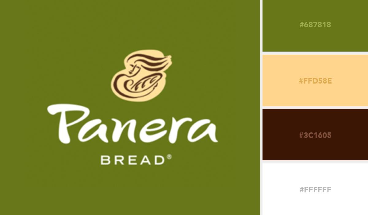 logo color schemes - panera palette