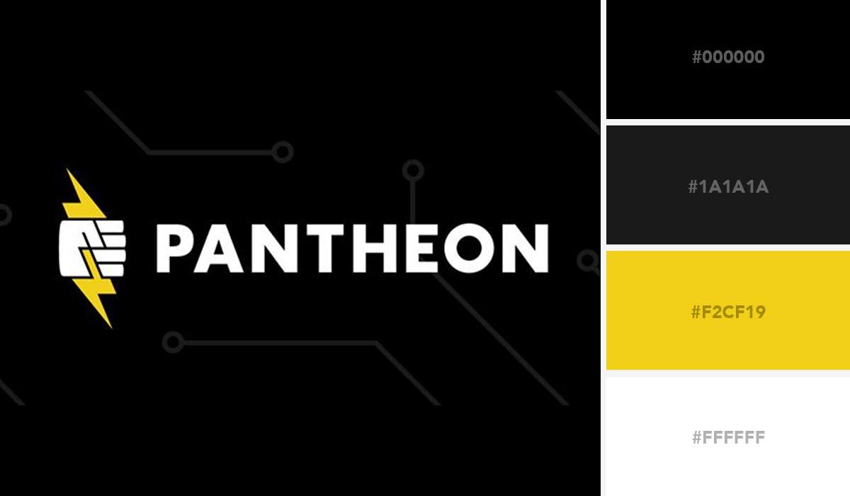 logo color schemes - pantheon palette