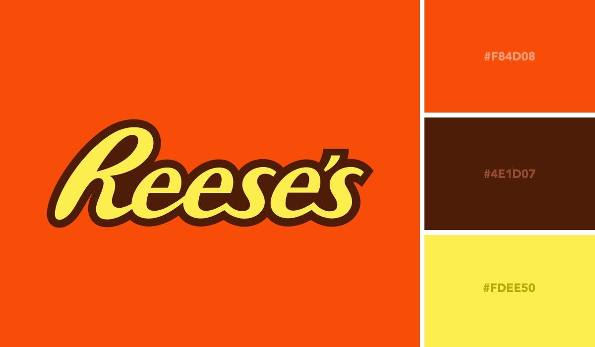 logo color schemes - reeses palette