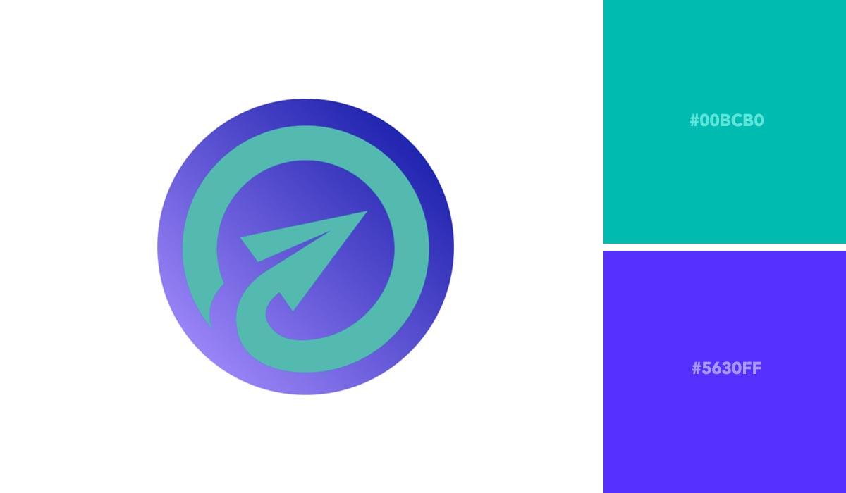 logo color schemes - respona palette