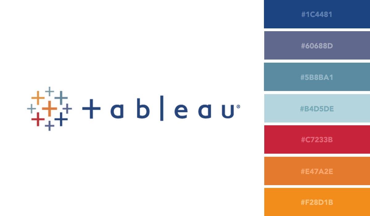 logo color schemes - tableau palette