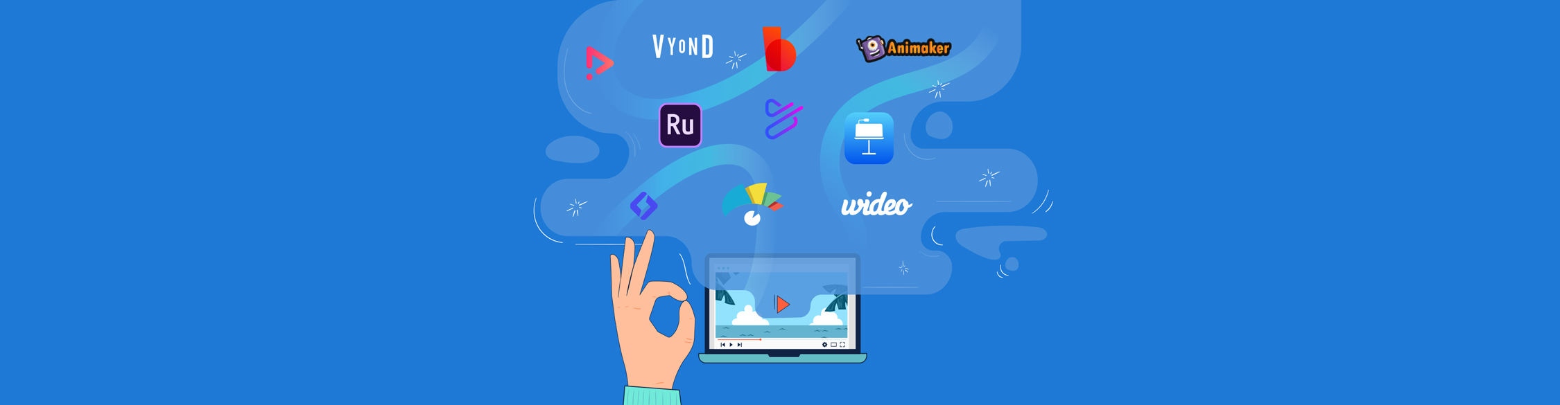 video presentation software - header